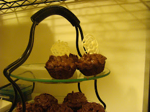 Photo: Chocolate Cupcakes with Chocolate frosting.