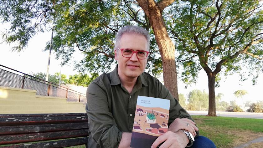 Miguel Ángel Muñoz vuelve a las librerías cinco años después de la publicación de su último título (Foto: Alba Muñoz).
