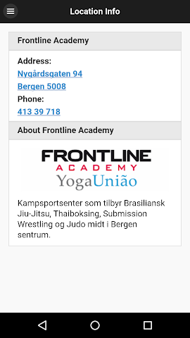 android FrontlineBerge Screenshot 1