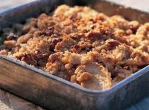 Caramel Walnut Apple Crisp Recipe