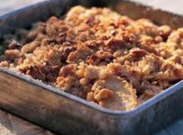 Caramel Walnut Apple Crisp Recipe