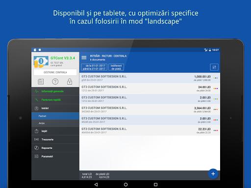 GTCont - facturare u0219i gestiune  screenshots 7