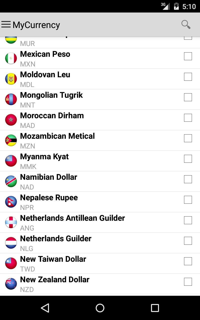 My Currency Pro - Converter Screenshot 10