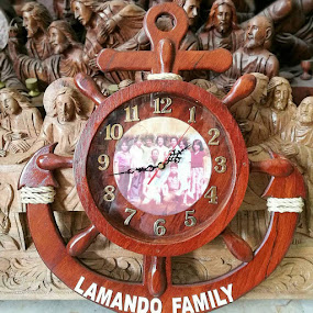 Wooden Watch by Florante Lamando - Instagram & Mobile Android ( wooden, arts, handicraft, sculptor )