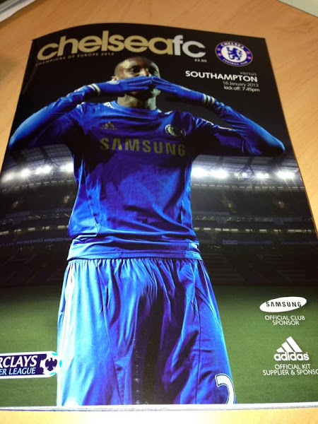 Photo: Tonight's programme cover...