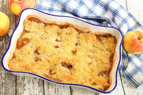 Apple Crisp Best Ever! No Oats
