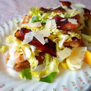 Chicken Caesar Salad Sarnies (Sandwiches)