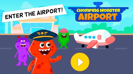 My Chompy Town - My Airport Games for Kids APK screenshot thumbnail 1