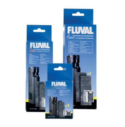 Filtermatta Fluval 4 Plus 4st Aktivt Kol A197