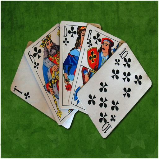 Карточная игра на букву б