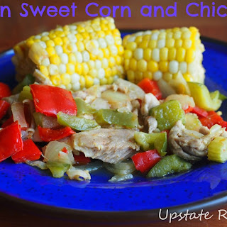 Sunshine Sweet Corn–Cajun Sweet Corn and Chicken