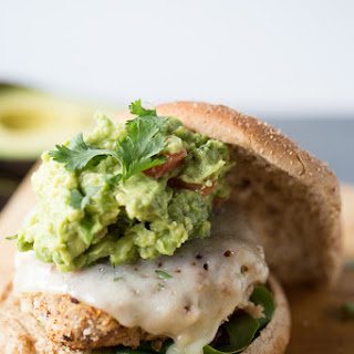 Taco Turkey Burger with Guacamole