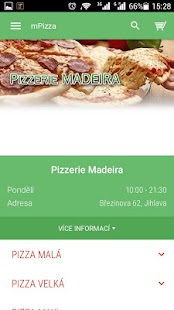 Pizzerie Madeira Jihlava- screenshot thumbnail