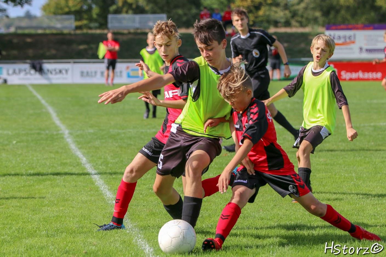 D1-JFV Untere Elz – U12 SC Freiburg – D-Junioren  0:7 (0:5)