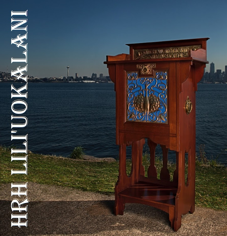Kitchen Cabinets Honolulu: THE HONOLULU CABINET Queen Liliuokalani Hula Music Antique