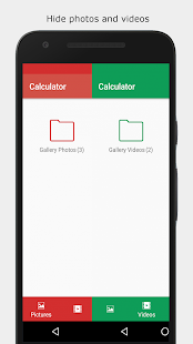 Calculator Vault: Hide Photos & Videos + Applock Screenshot