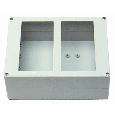 Kapsling 2 moduler för SOL-paneler, 150x200x75mm