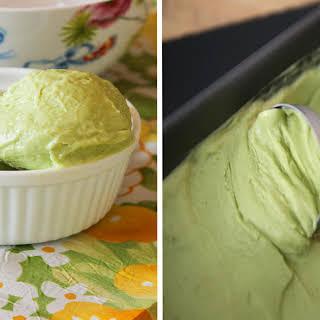 Coconut Avocado Ice Cream.