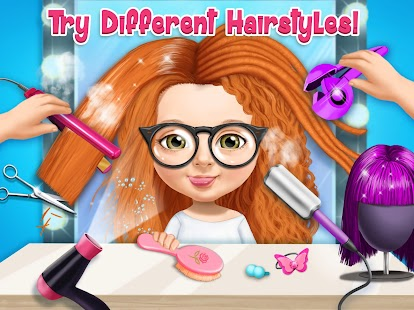 Sweet Baby Girl Beauty Salon 3 - Hair, Nails & Spa Screenshot