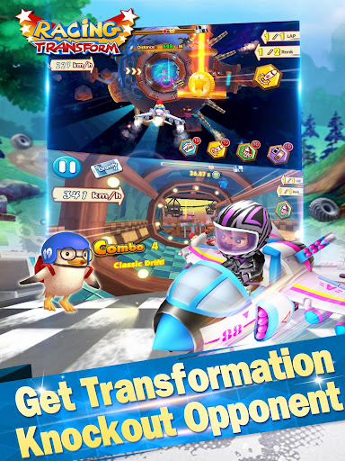 Racing Transform - Skyland Race for PC