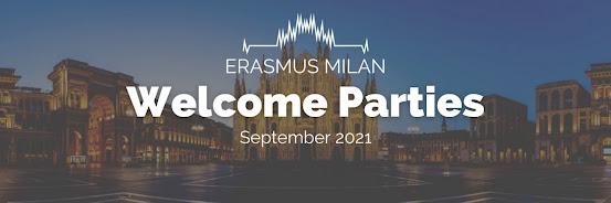 Erasmus Welcome Parties - September 2021