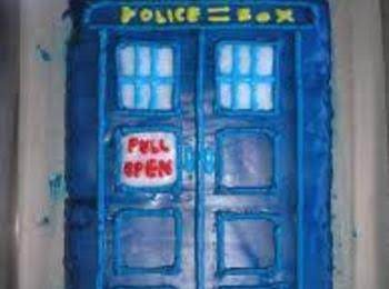 Tardis Blue Velvet Cake Recipe