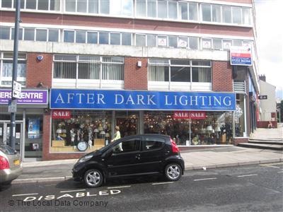 After Dark Lighting On Babington Lane Retailers