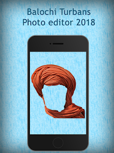 Balochi Turbans Photo editor 2018 - náhled