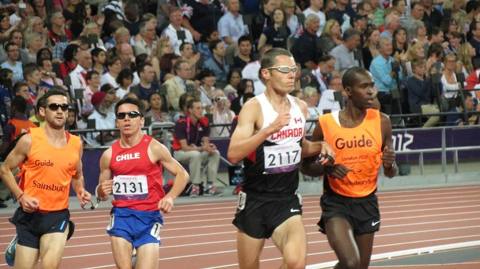 Corredores, Ejecución, Juegos Paralímpicos, Londres