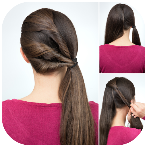 Best Hairstyles step by step app (apk) free download for Android/PC/Windows