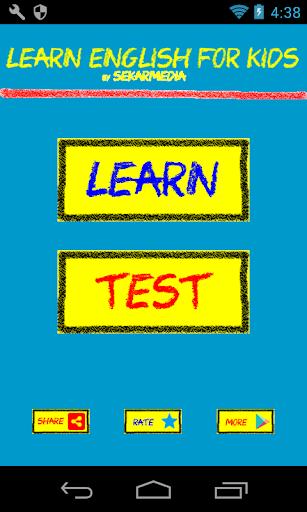 Learn English For Kids screenshots 1