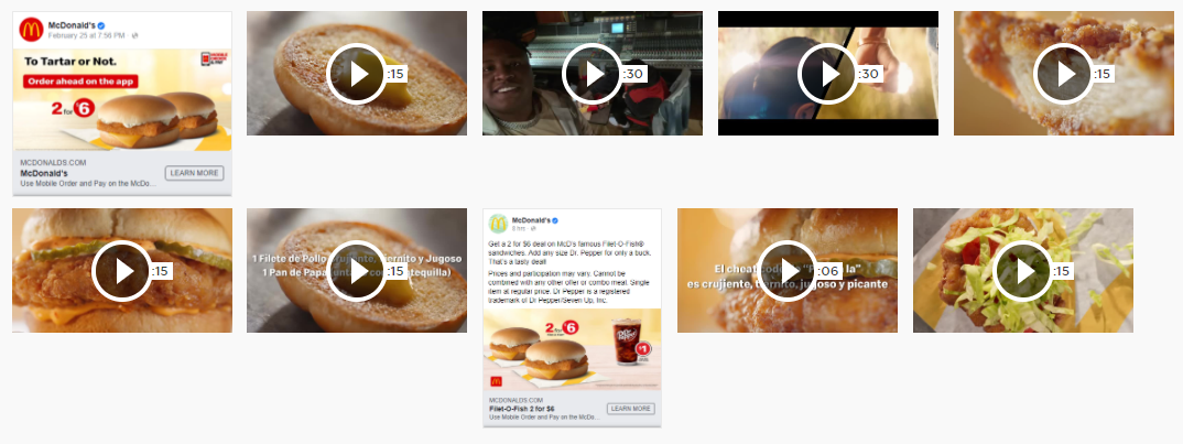 Digital creatives for Burger King