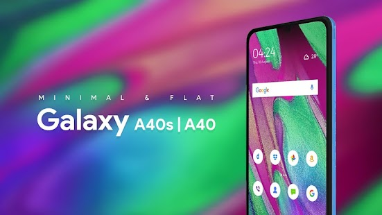Theme Launcher Skin For Galaxy A40S & A40 Screenshot