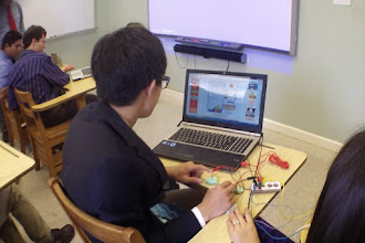 Photo: Introduction to Makey Makey.