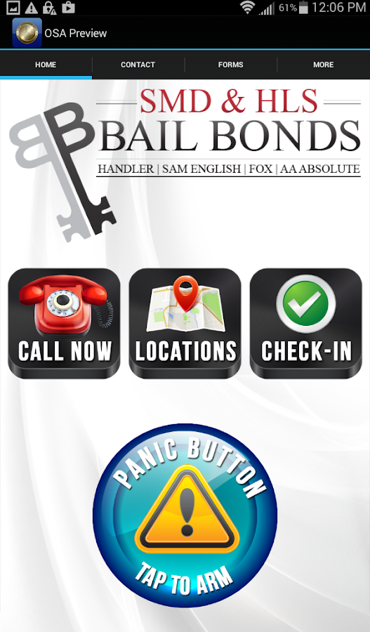 HLS/SMD Bail Bonds- screenshot