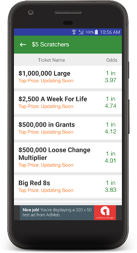 Lottery Scratch Offs & Lotto Scratcher Guide by App Central Muma LLC