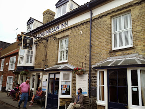 Photo: Lord Nelson is another fine Adnams pub in Southwold.