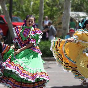 Fiesta Dancers by Al Judge - People Musicians & Entertainers ( dancers, arizona, fiesta, tlaquepaque, sedona )