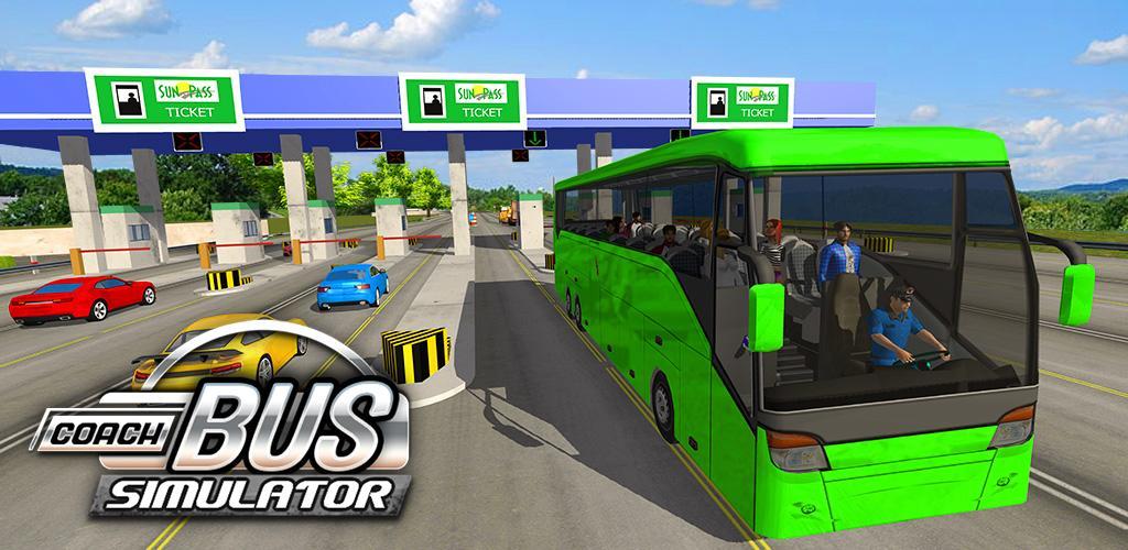 permainan mobil bus Coach Bus Driving Simulator