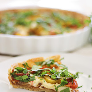 Baby Heirloom Tomato Tart