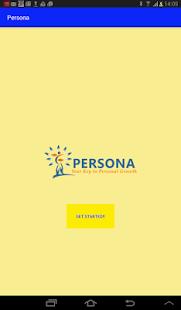 Persona screenshot