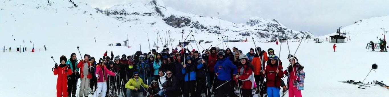 Viaje a la Nieve de 1º y 2º ESO