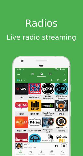 Podcast Republic - Podcast Player & Radio App screenshot