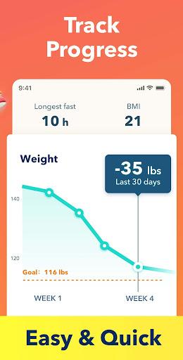 Fasting App - Fasting Tracker & Intermittent Fast screenshot 3
