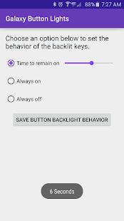Galaxy Button Lights Screenshot 1