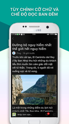 BÁO MỚI - Đọc Báo, Tin Tức 24h app (apk) free download for Android/PC/Windows screenshot