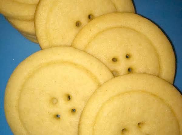 Cute As A Button Cookies Recipe