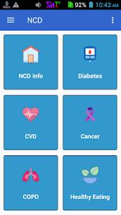 NCD App - náhled