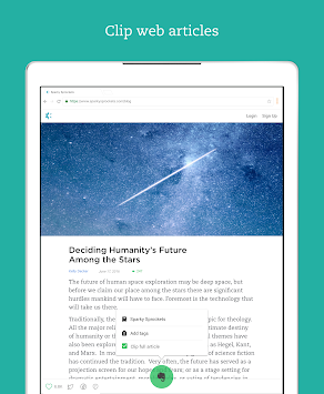 Evernote - організуйте. APK screenshot thumbnail 9