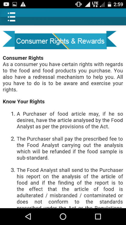 Food Safety Connect, FSSAI- screenshot